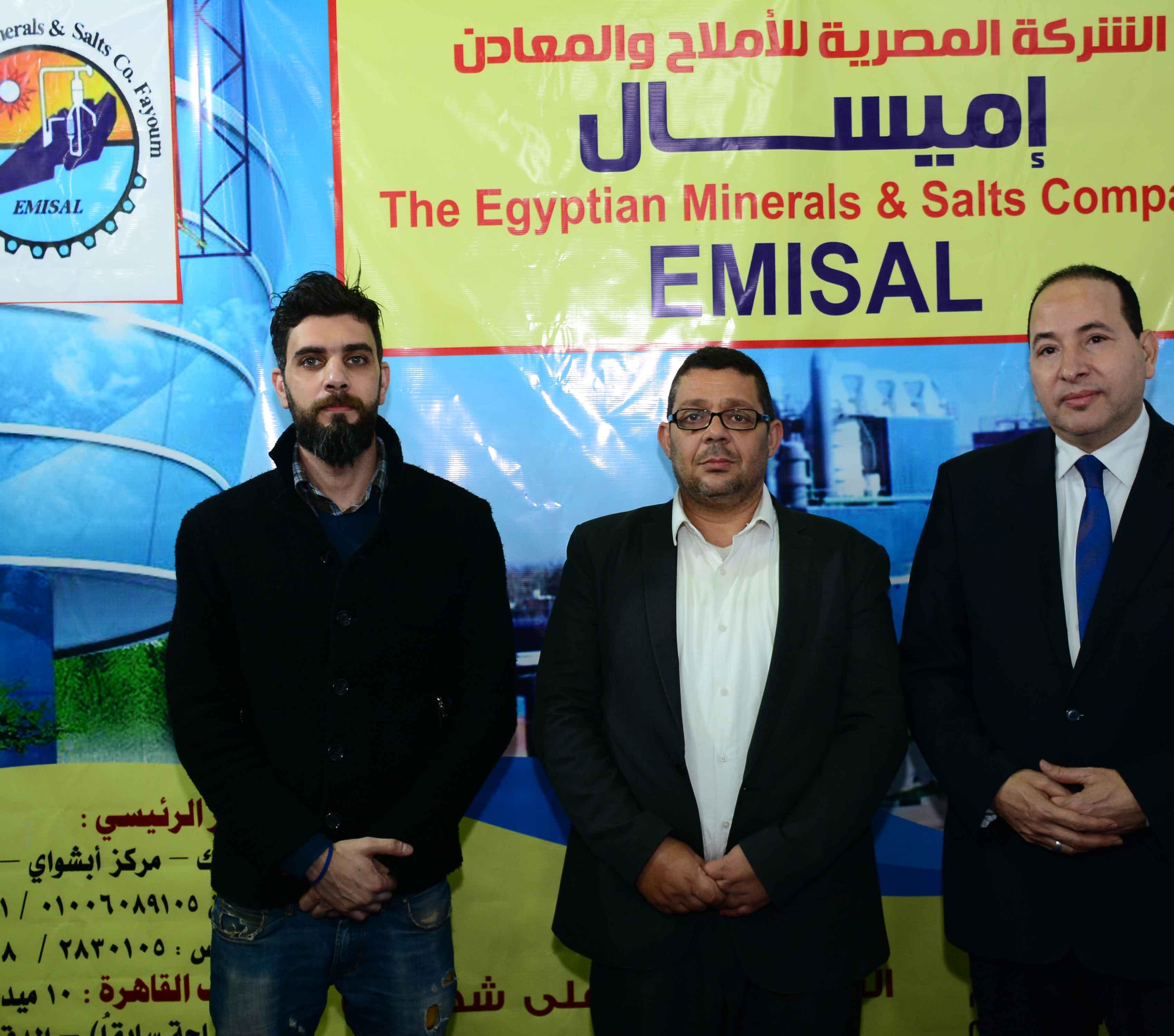 الشركة المصرية للأملاح والمعادن بالفيوم (ايميسال)